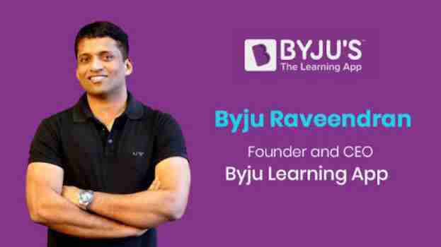 Byju Raveendran byju's