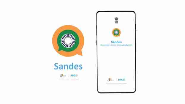 India's alternative messaging app Sandes, Features, Comparison with WhatsApp