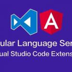 Angular language service not working in vscode